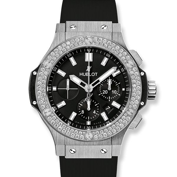 Hublot Big Bang Steel Diamonds 44mm